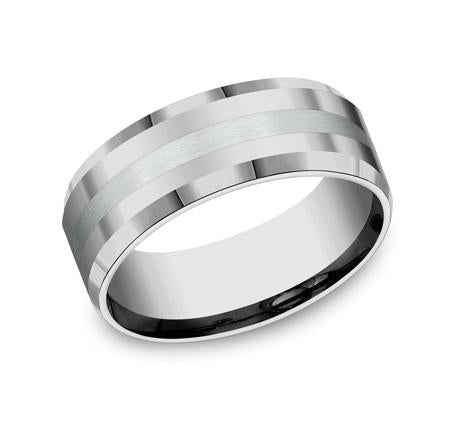 Forge Tungsten 8mm Ring SKU CF6842618KWTG