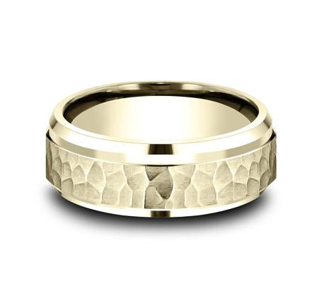 Benchmark Yellow Gold 8mm Ring SKU CF68490Y
