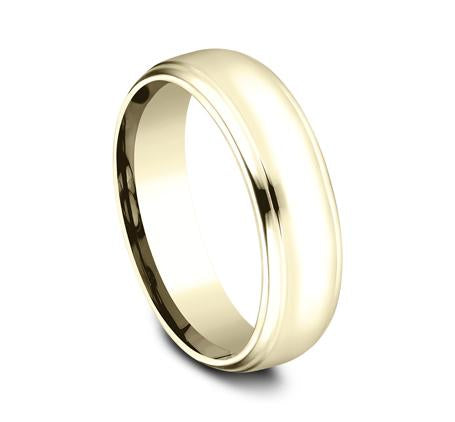 Benchmark Yellow Gold 6.5mm Ring SKU CF716540Y