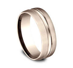 Benchmark Rose Gold 7.5mm Ring SKU CF717505R