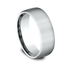 Benchmark White Gold 7.5mm Ring SKU CF717561W