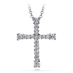 Divine Cross Pendant Necklace