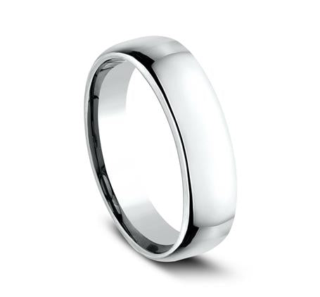 Benchmark White Gold 5.5mm Ring SKU EUCF155W