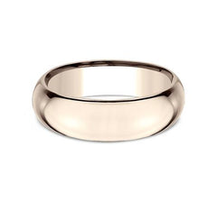 Benchmark Rose Gold 7mm Ring SKU HDCF170R