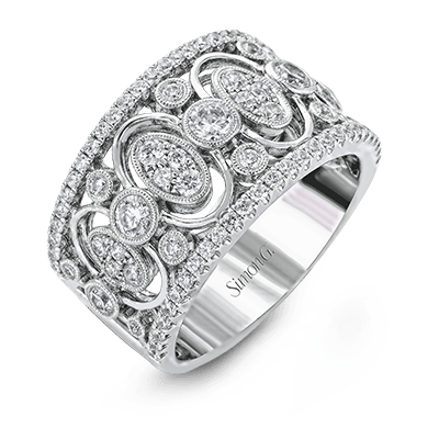 Simon G Vintage Ring - #LP2040 - Duchess Collection
