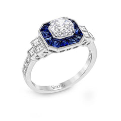 Simon G Contemporary Ring - #LR1059 - Classic Romance Collection
