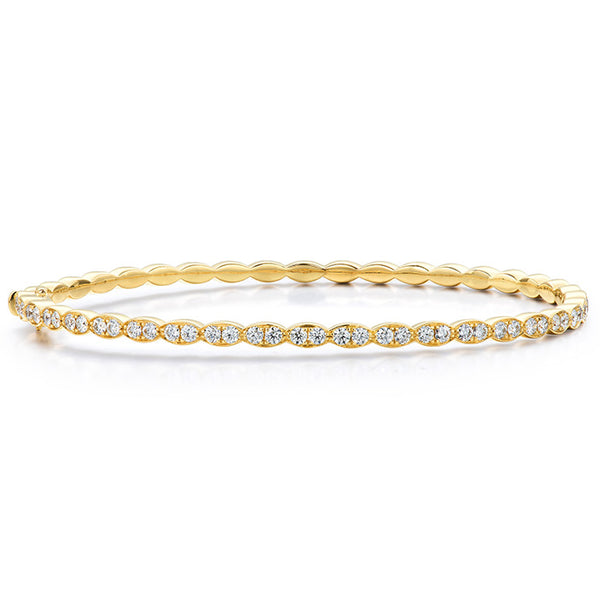 Lorelei Floral Diamond Bangle