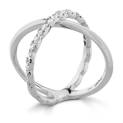 Lorelei Criss Cross Ring