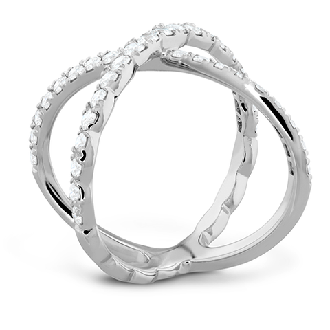 Lorelei Diamond Criss Cross Ring style LorelDCCR