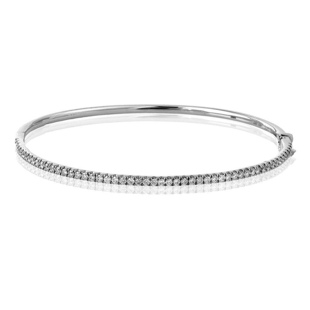 Simon G Classic Bangle - #MB1432 - Caviar Collection