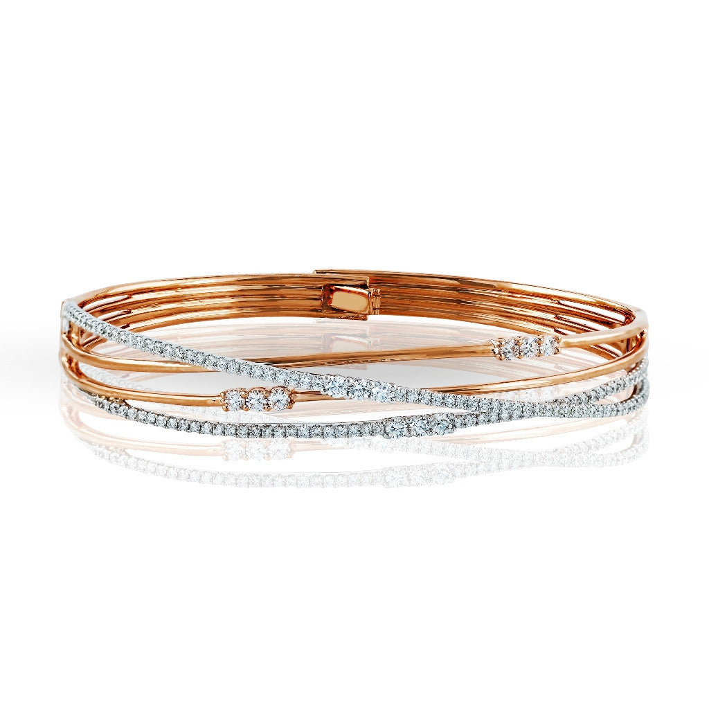 Simon G Contemporary Bangle - #MB1553 - Fabled Collection