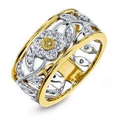 Simon G Vintage Ring - #MR1000 - Garden Collection