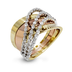Simon G Contemporary Ring - #MR2712 - Classic Romance Collection