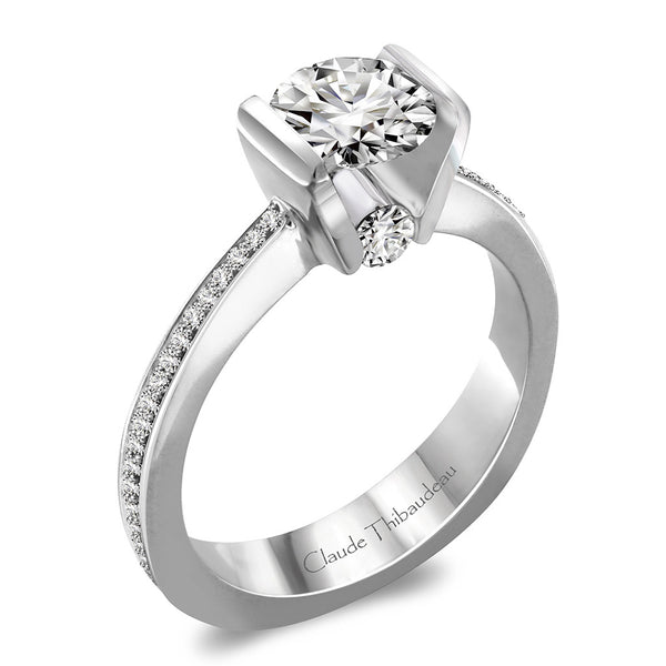 Claude Thibaudeau Handmade Ring Style Number: #PLT-3737-MP.
