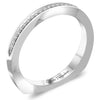 Claude Thibaudeau Handmade Wedding Band Style Number: #PLT-3923-J-MP.