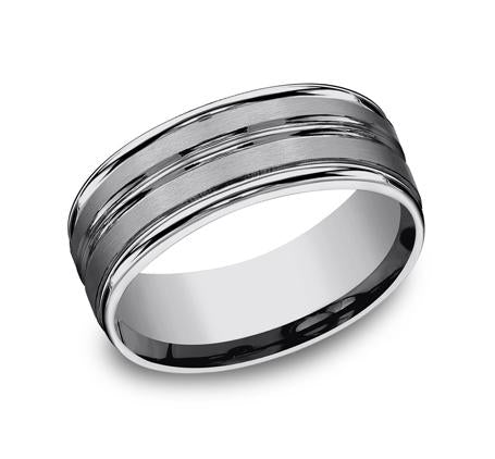 Forge Tungsten 8mm Ring SKU RECF58180TG
