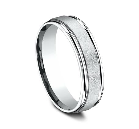 Benchmark Platinum 6mm Ring SKU RECF7602PT