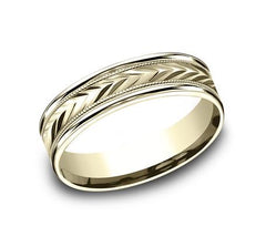 Benchmark Multi-Gold 8mm Ring SKU CF228003