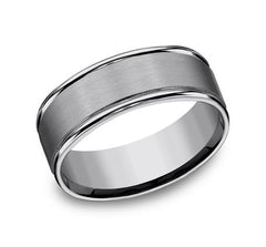 Forge Tungsten 8mm Ring SKU RECF7802STG