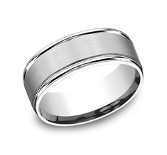 Benchmark Platinum 8mm Ring SKU RECF7802SPT