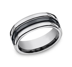 Forge Tungsten 8mm Ring SKU RECF78862CMTG