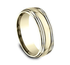 Benchmark Yellow Gold 7.5mm Ring SKU RECF87501Y