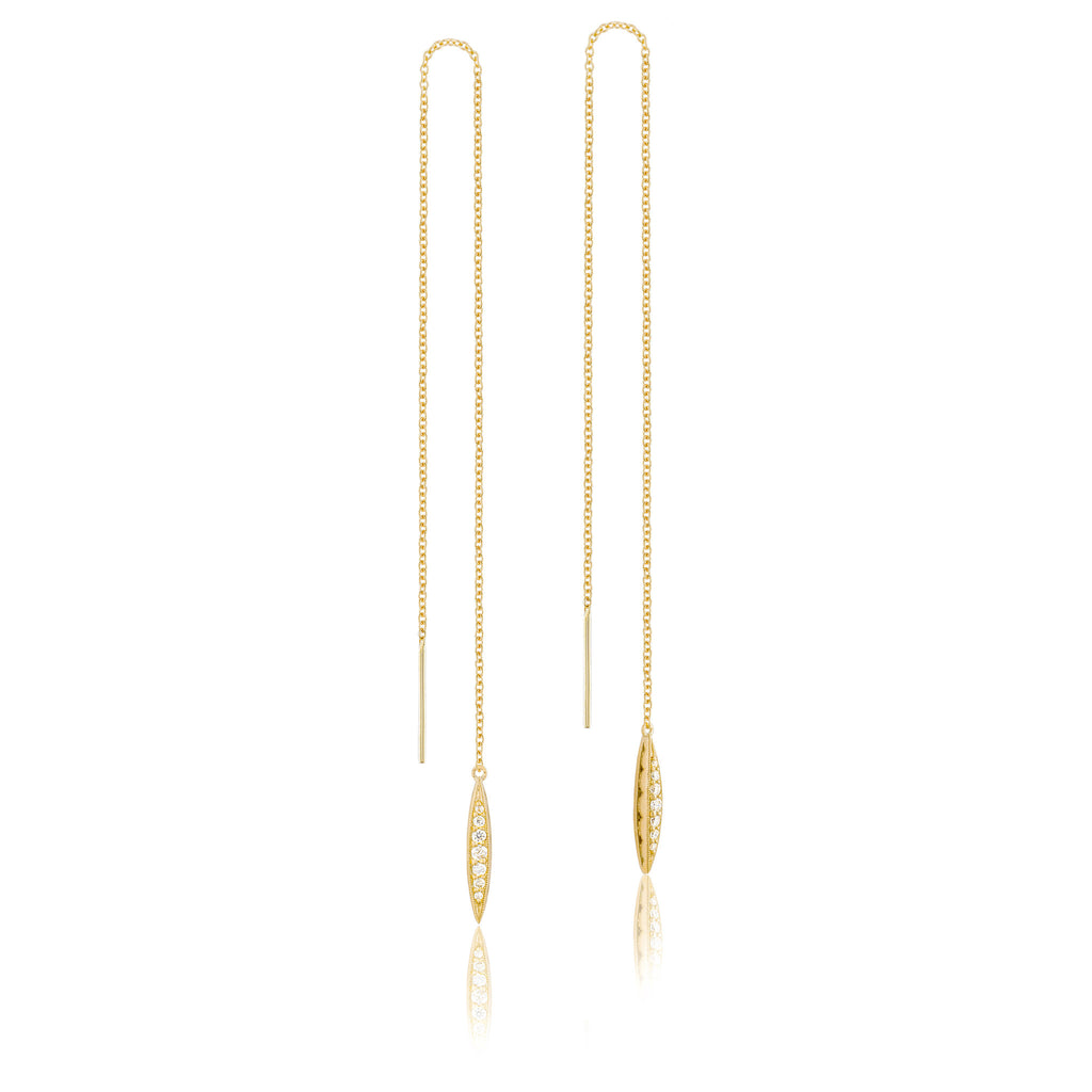 Ivy Lane Pavé Surfboard Thread Earring Style #SE224