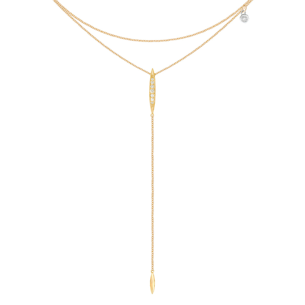 Ivy Lane Double Chain Surfboard Lariat Style #SN214