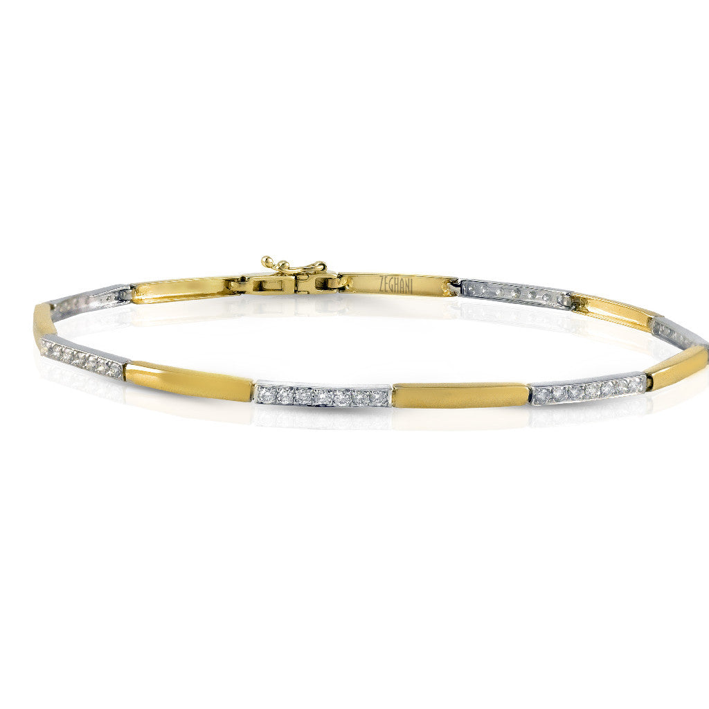 Zeghani Bracelet  #ZB144-Contemporary Pure Collection