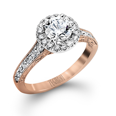 Zeghani Engagement Ring - #ZR939