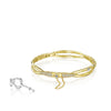 Promise Bracelet #SB-188-Y Yellow Gold w/ Diamonds