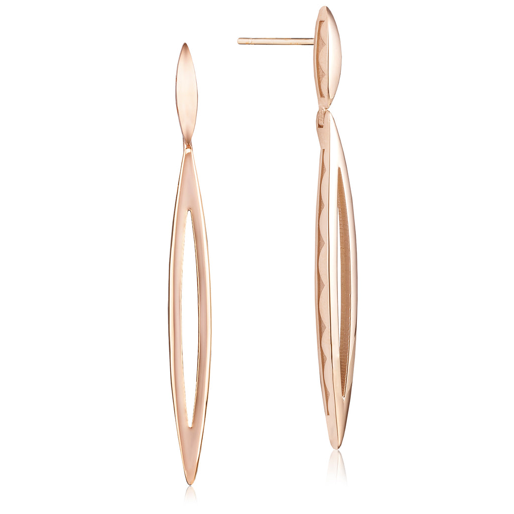 Ivy Lane Pave Marquise Drop Earring Style # SE221