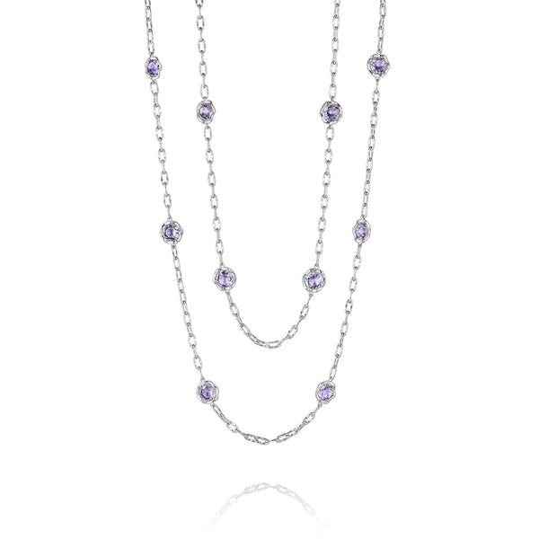Lilac Blossoms Necklace Style # SN10801