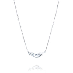 Crescent Cove Petite Wavelet Necklace - Style #SN226