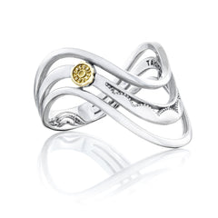 Crescent Cove Triple Wave Ring - Style #SR217