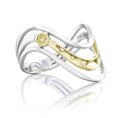 Crescent Cove Triple Wave Ring - Style #SR218