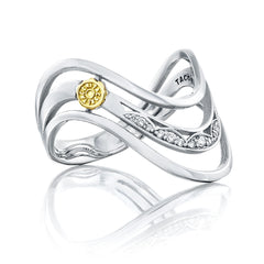 Crescent Cove Triple Wave Ring - Style #SR219
