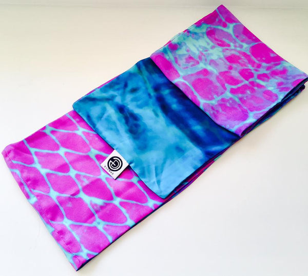 Extra Long 100% Super Slinky Silk Scarf in Lilith Jardine Print