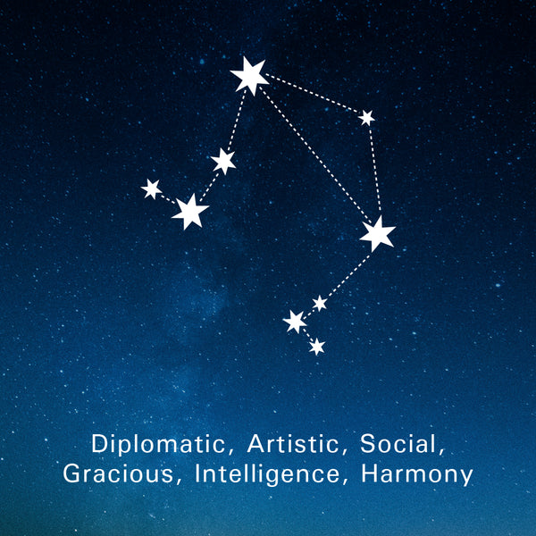 Libra Traits: Diplomatic, Artistic, Intelligence, Social, Gracious, Harmony.