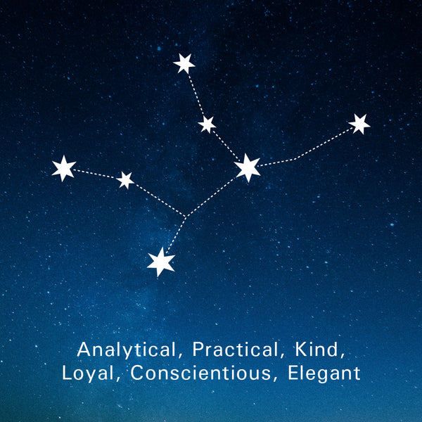 Virgo Traits: Analytical, Practical, Kind, Loyal, Conscientious, Elegant