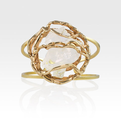 Angel's Nest Cuff Faden Quartz