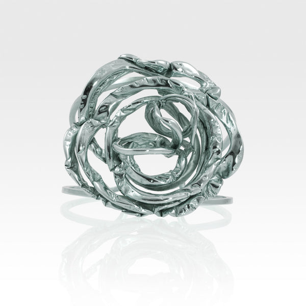 Angel's Nest Cuff Silver