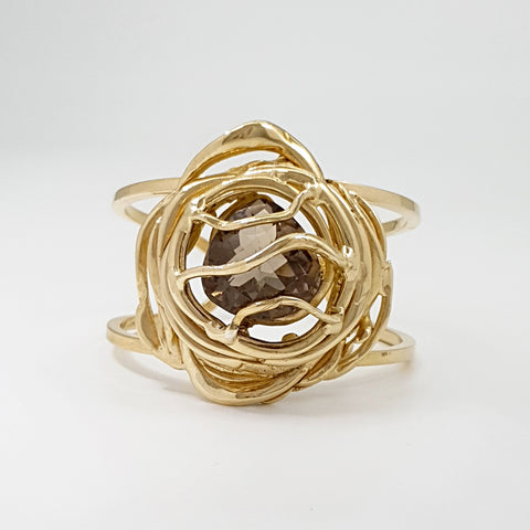 Angel's Nest Smoky Quartz Cuff Limited Edition 2