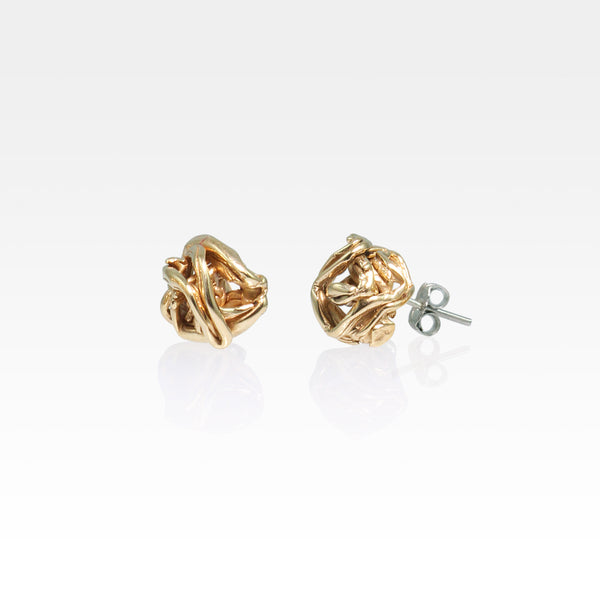 Angel's Nest Stud Earrings