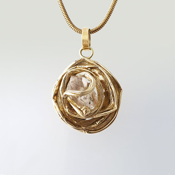 Angel's Nest Rutilated Quartz Pendant Limited Edition 1 *SOLD*
