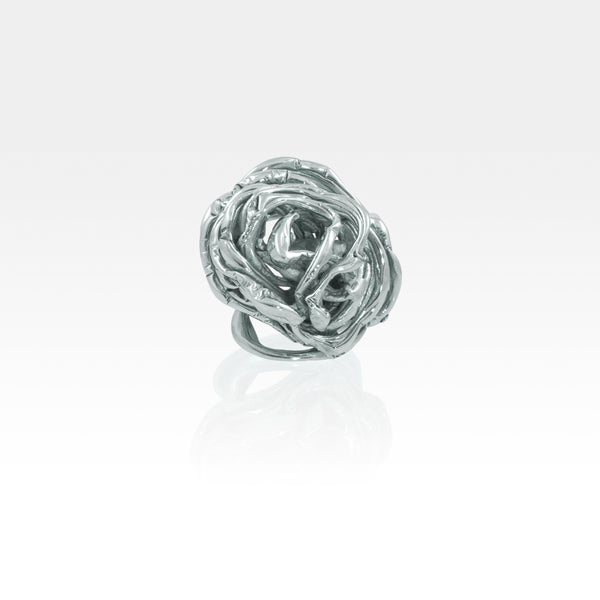 Angel's Nest Ring Silver