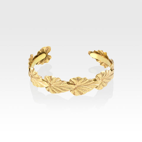 Art Deco Leaf Bracelet