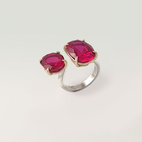 Double Ruby Ring
