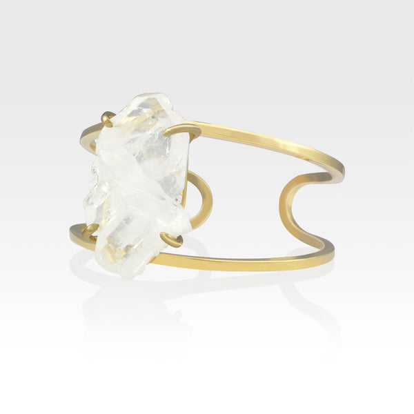 Faden Quartz Cuff Medium Side View