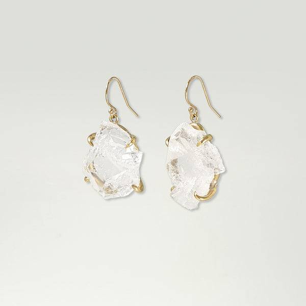 Faden Quartz Earrings